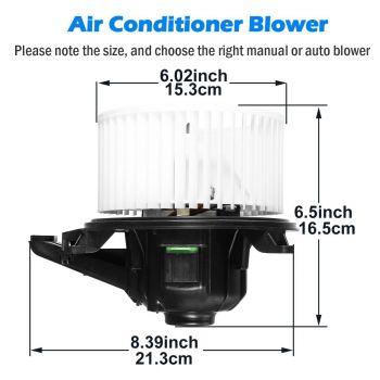 Replacement Parts Automotive AUTEX HVAC Blower Motor Assembly ...